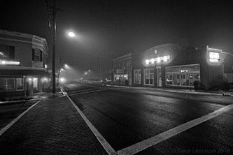 main 21st black and white street