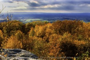 A rocky overlook along the Appalachian Trail in Clarke County, VA.
